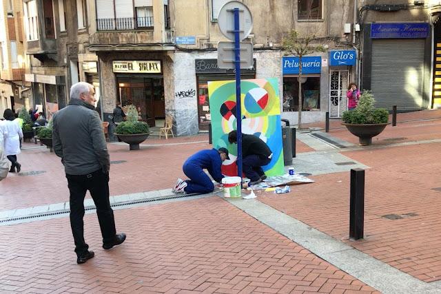Actividades de promoción de la calle Portu