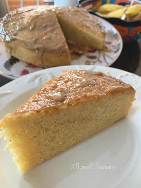 sweet kwisine, gâteau, lait de coco, quatre-quarts, combava, citron vert, cuisine antillaise, cuisine facile, cuisine légère, sans lactose