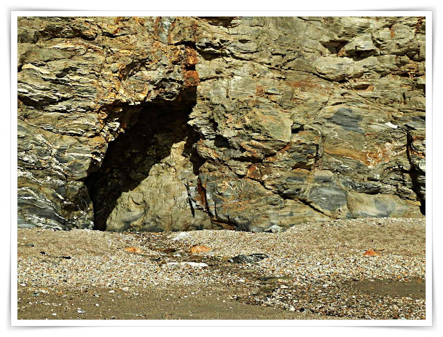 Cave at Charlestown, Cornwall