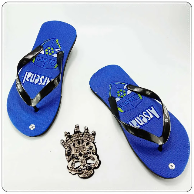 Pabrik Sandal Pria Motif Bola Terlaris- Sandal AMX Club Bola Spon