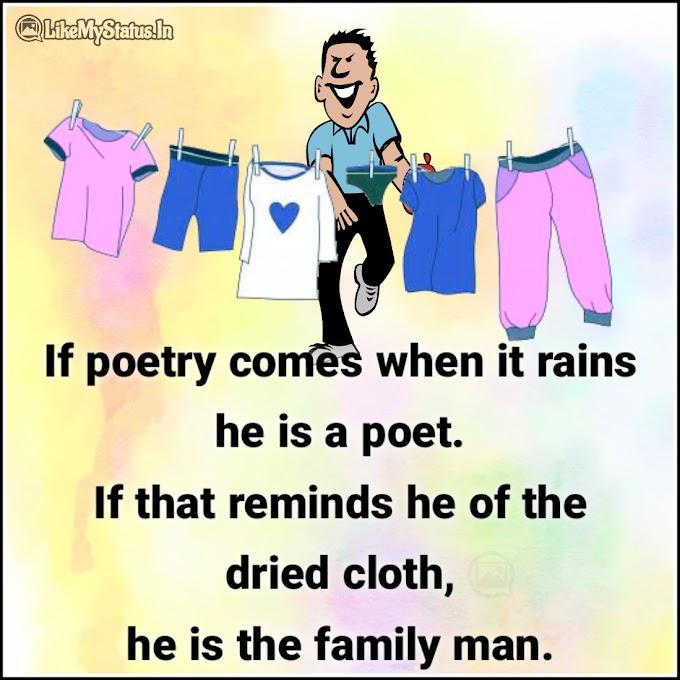 Family Man Joke In English