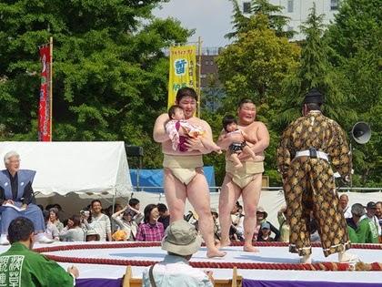 เทศกาลนากิซูโม่ (Nakizumo Festival) @ www.japan-talk.com