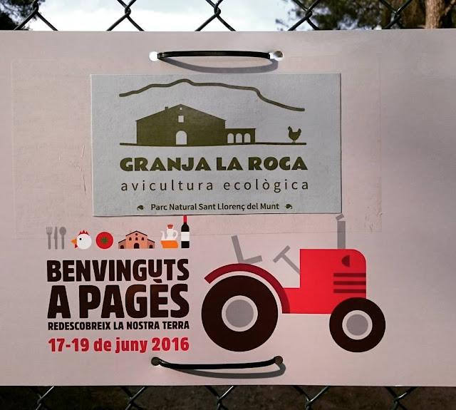 Visita a la Granja La Roca #benvingutsapages