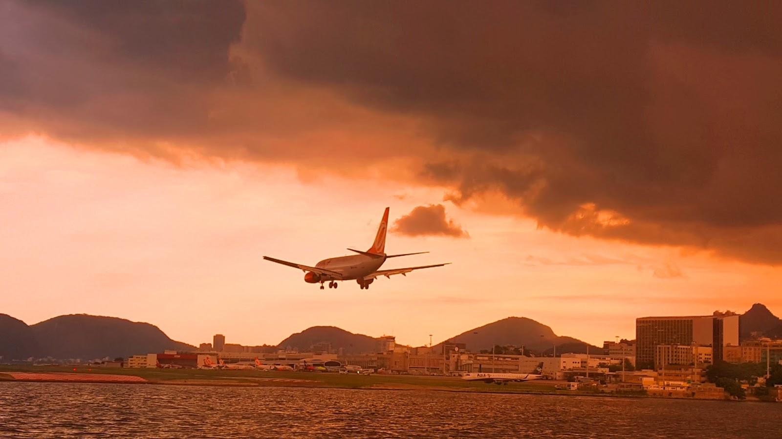 aterrisagem-aeroporto-Santos-Dumont