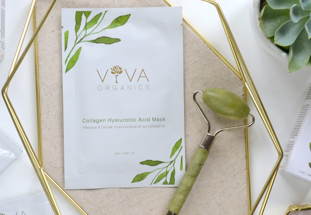 Viva Organics Collagen Hyaluronic Acid Mask