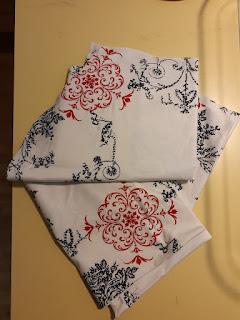 cut pattern pieces