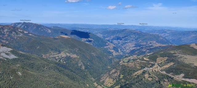Vista hacia el Norte desde el Cueto de Arbás