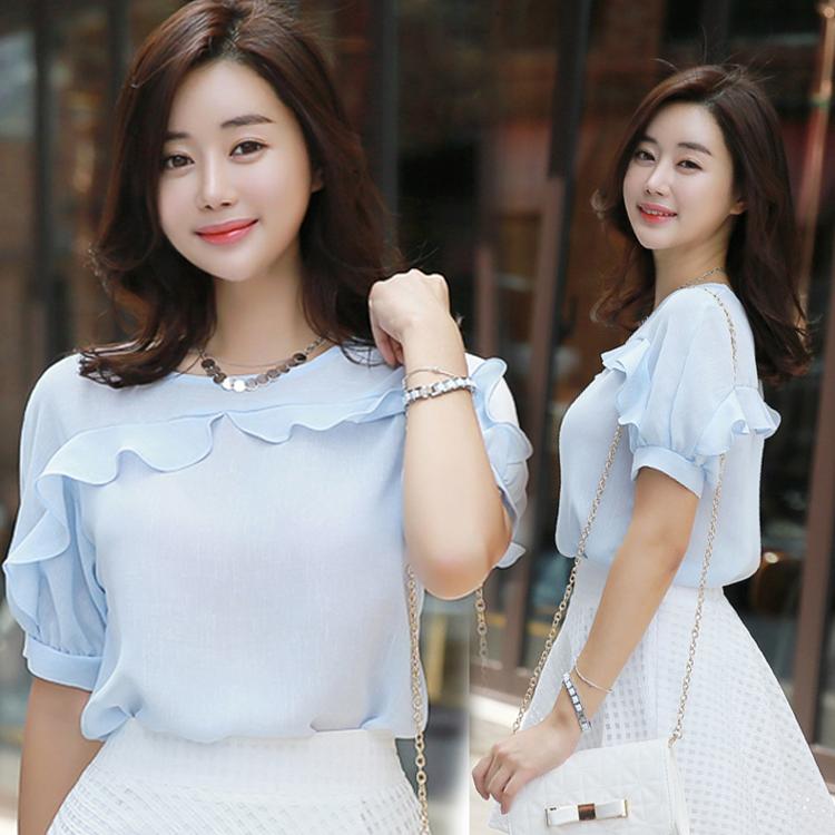 Những kiểu áo sơ mi voan đẹp cho phụ nữ công sở