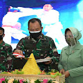 Danpussenif Letjend TNI Besar Harto Karyawan Pimpin Syukuran Korps Infanteri ke-72 Tahun 2020 di Pussenif
