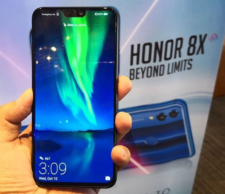 Honor 8X Launches in PH for Only Php12,990