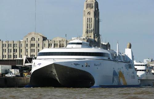 navio mais rápido do mundo
