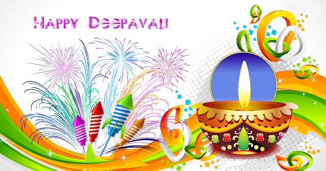 Happy Diwali Facebook Cover Pictures