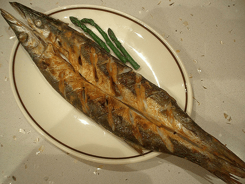Garlicky Grilled Pike Recipe