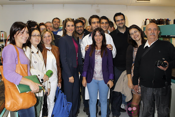 Princess Letizia visited the Public Center Integrated Training Pyramid in Huesca