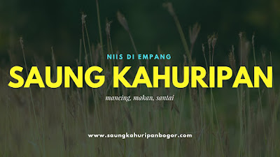 Lokasi Mancing di Bogor