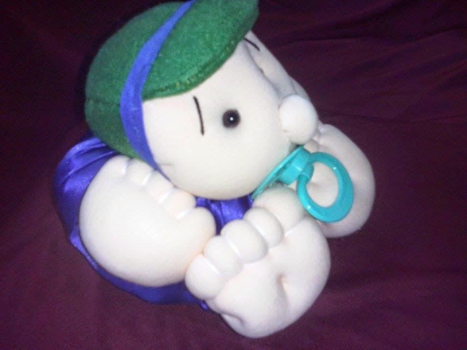 Boneco de pano bebê batata