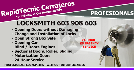 Locksmith Mojados 603 908 603