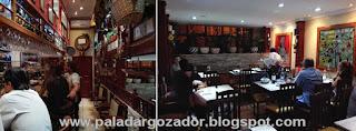 El Txoko Alaves interior restaurante