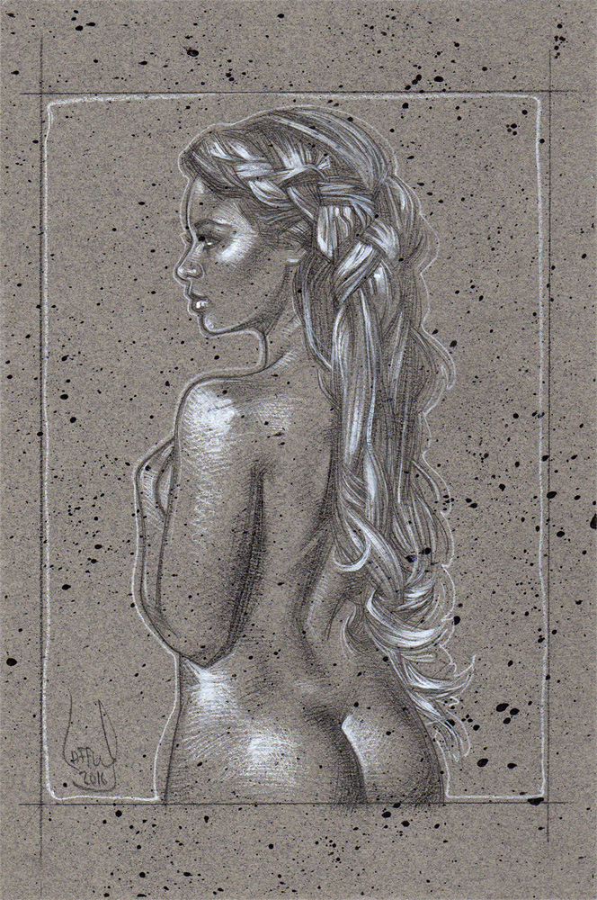 Nude Woman, Artwork© Jeff Lafferty
