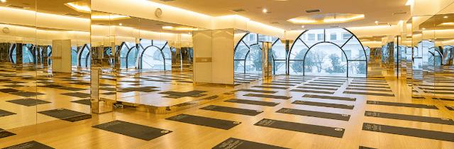 Cơ sở vât chật tại phòng tập yoga quận 5 của California Yoga