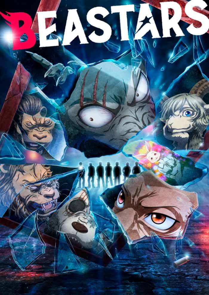 Beastars anime - Temporada 2 - poster