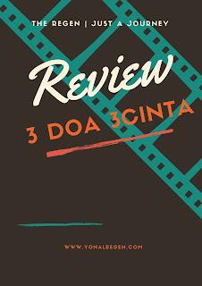 review film 3 doa 3 cinta