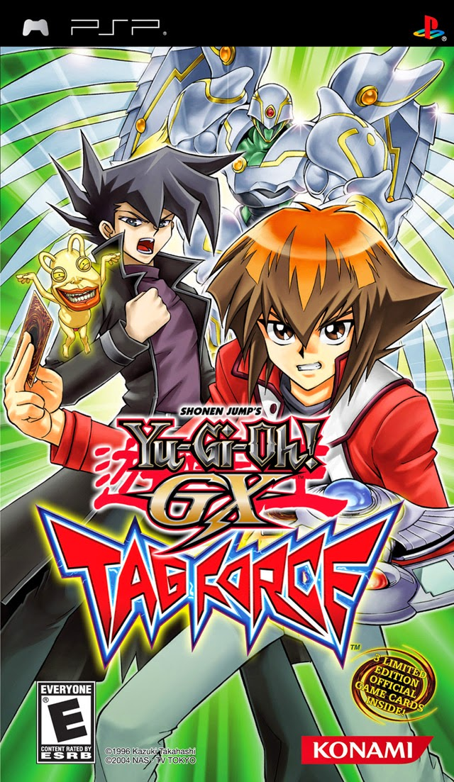 Yu Gi Oh GX Tag Force 3 PSP ISO - Download Roms ISOs