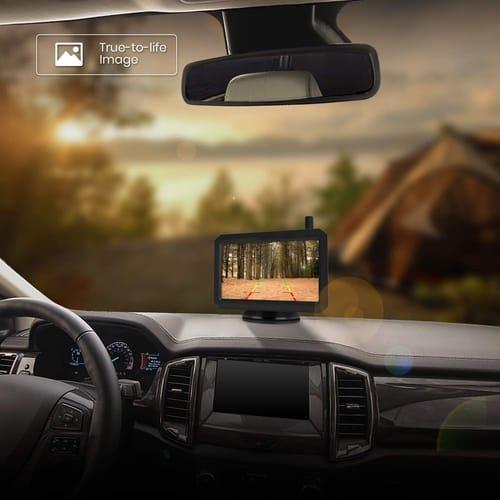 AUTO-VOX RVS-SO-C Solar Wireless Backup Camera