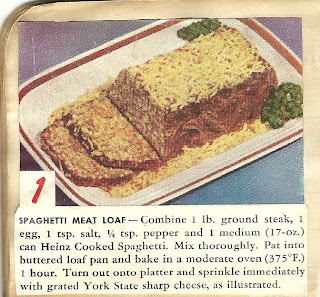 AllThingsVintage Heinz Cooked Spaghetti Recipe - Spaghetti Meat Loaf
