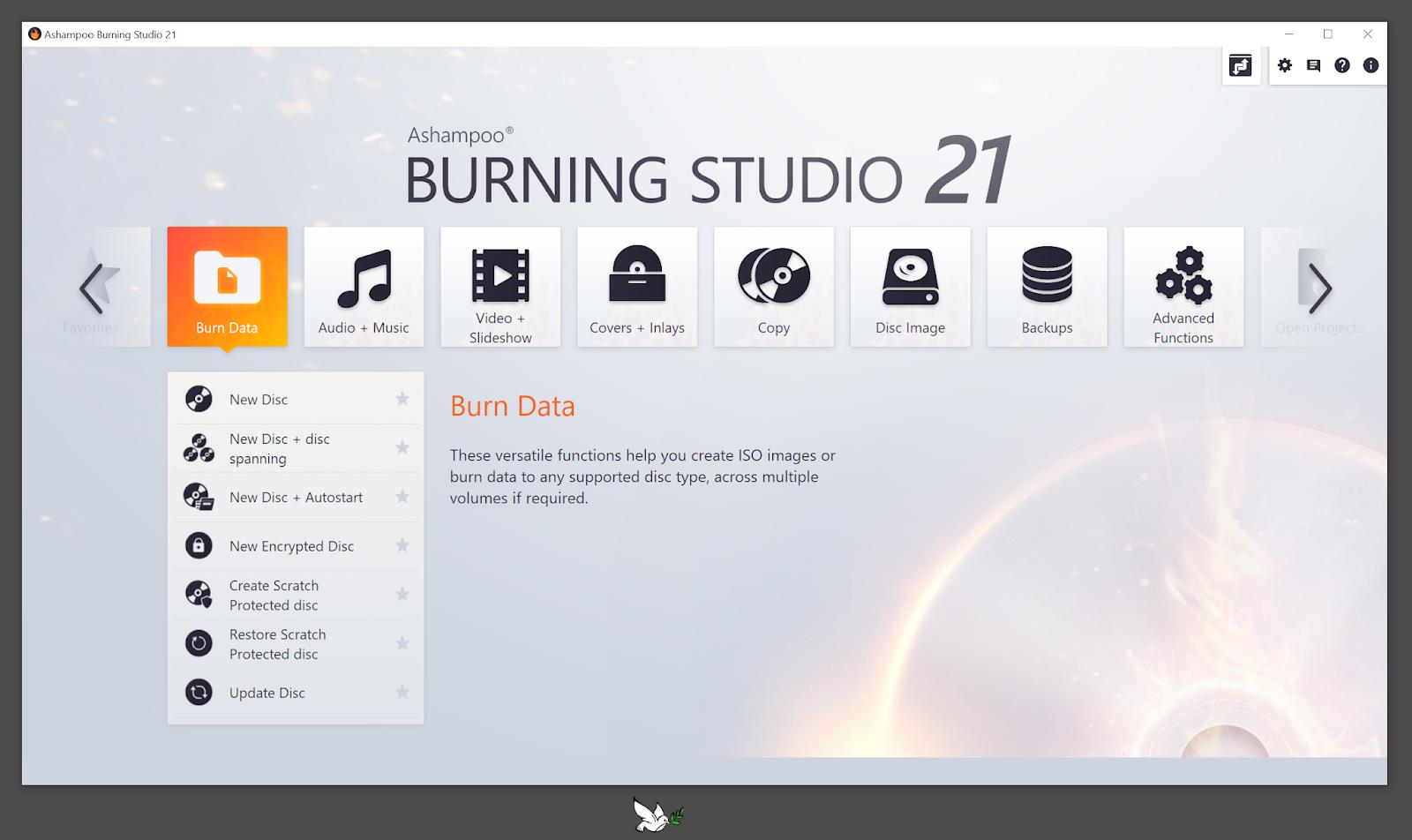 تحميل برنامج Ashampoo Burning Studio 21.0.0.33 كامل بالتفعيل