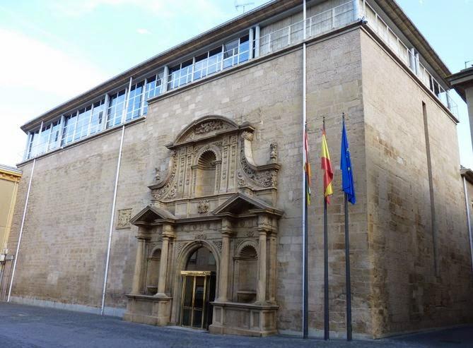 Parlamento de la Rioja, Logroño.