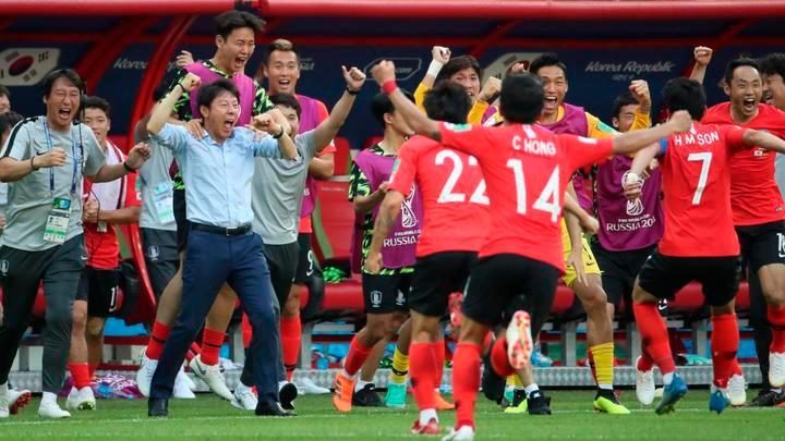 Coreanos celebraron porque creían que habían clasificado, pero gracias a México quedaron eliminados