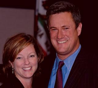 American philanthropist, Susan Waren with her ex-husband Joe Scarborough