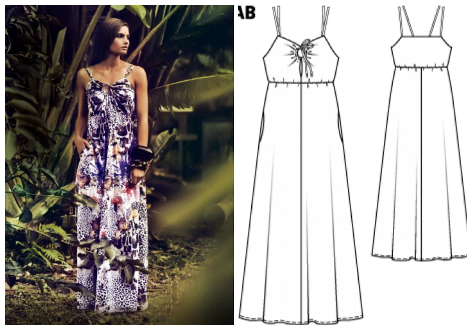 Como hacer un vestido largo de verano facil