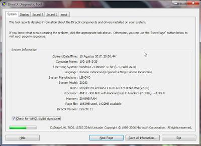Cara Melihat Spesifikasi Laptop Komputer  Cara Melihat Spesifikasi Laptop Komputer (PC) Windows 7