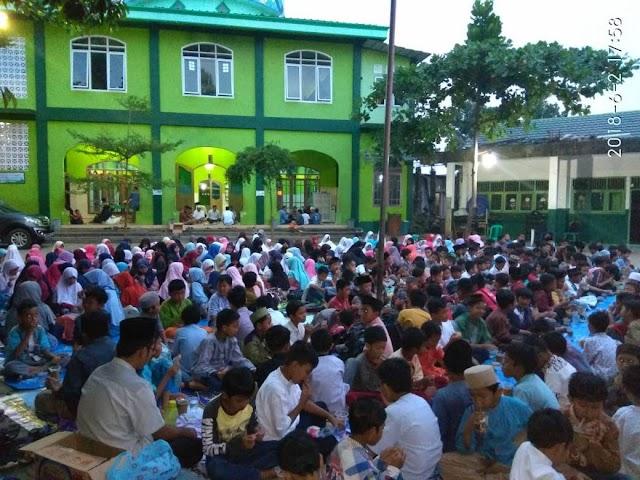 Sanlat Ditutup Buka Bersama Ramadan
