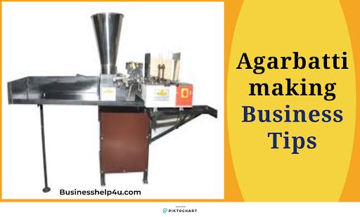 Agarbatti making business