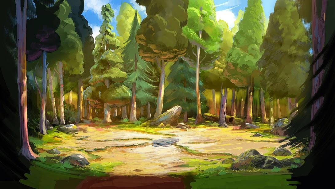Scenery Concept Art