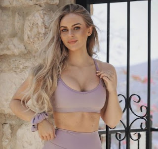 Swedish fitness model and internet sensation, Anna Nystrom