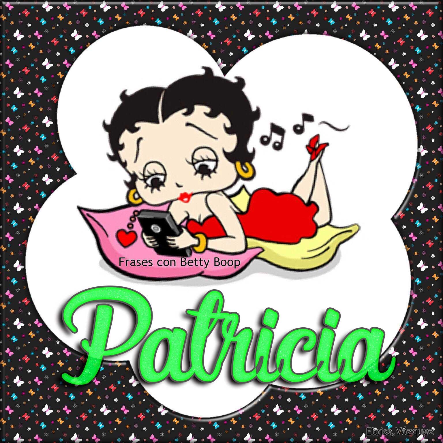 Pin by Eloisa Vazquez on Tarjetitas de Betty Boop con Nombres ...