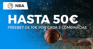 Paston promocion 50€ NBA 18-24 noviembre 2019