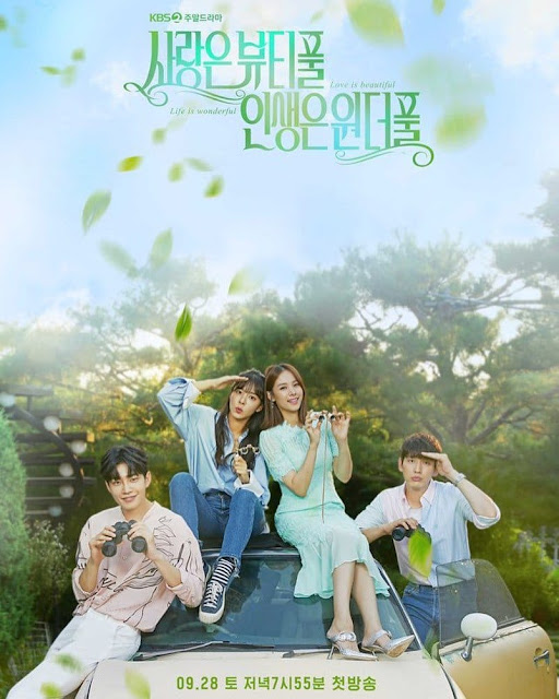 Sinopsis dan Daftar Pemain K-Drama Love is Beautiful, Life is Wonderful