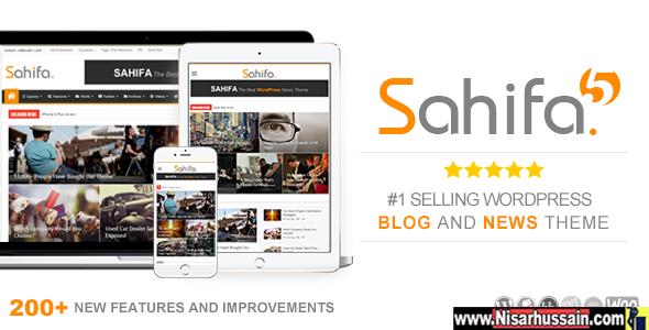 SAHIFA V5.6.5 Premium