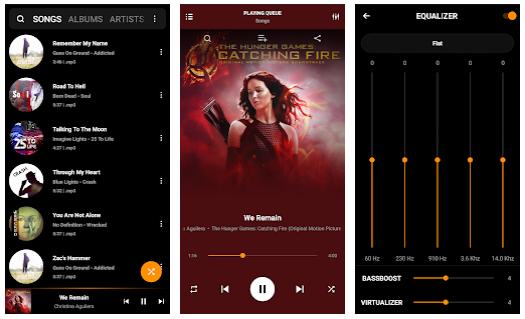 Screenshot PowerAudio Pro Music Player v8.0.5 Premium