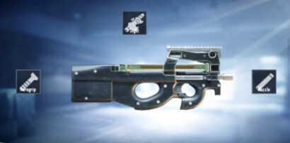سلاح P90