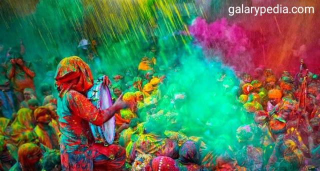 Holi festival images 2020