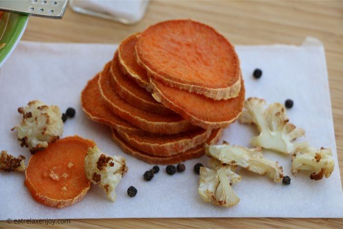 חטיפי אנטיפסטי – תפוצ'יפס ירקות ללא שמן