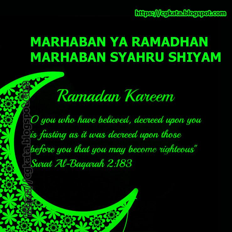 Ucapan Ucapan Ramadhan 2020 Cgkata