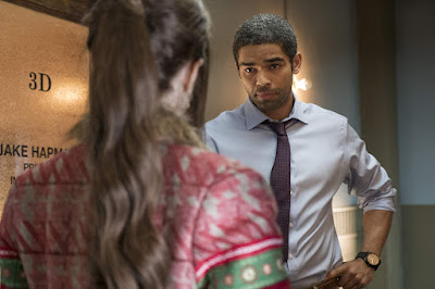 "Kingsley Ben-Adir plays private detective Jake Hapman, who tries to help Noelle Kringle (Anna Kendrick) find her brother Nick (Bill Hader) in Disney's ""Noelle."""