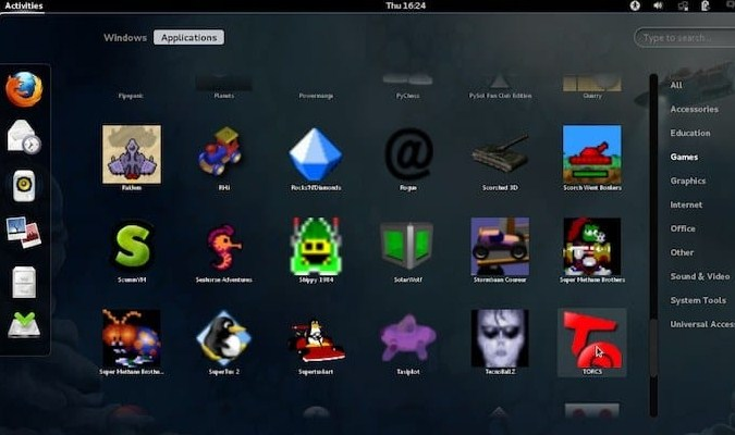 Distro Linux Gaming Terbaik - Fedora Games Spin